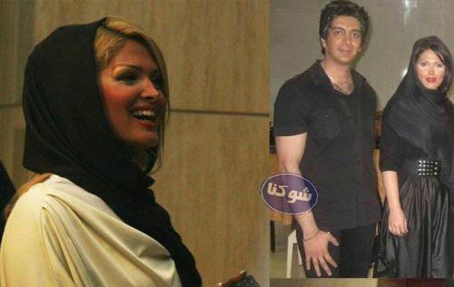 همسر فرزاد فرزین,فرزاد فرزین و همسرش