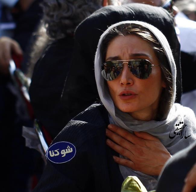بیوگرافی هدیه تهرانی,عکس لو رفته از هدیه تهرانی