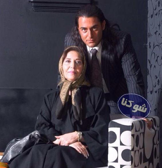 مادر محمدرضا گلزار,عکس محمدرضا گلزار و مادرش