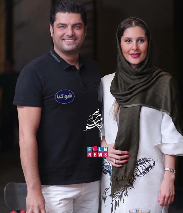 بیوگرافی سام درخشانی و همسرش,تصاویر سام درخشانی