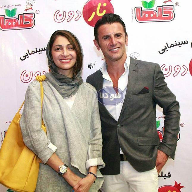 بیوگرافی امین حیایی و همسرش نیلوفر خوش خلق