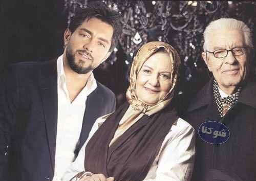 پدر و مادر بهرام رادان,عکس خانواده بهرام رادان