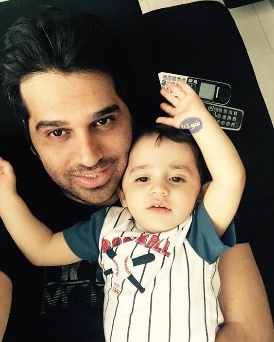 بیوگرافی حمید عسکری,عکس های حمید عسکری و پسرش