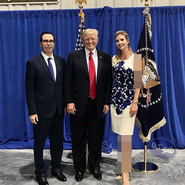 عکس های ایوانکا ترامپ,دختر ترامپ,ایوانکا و پدرش