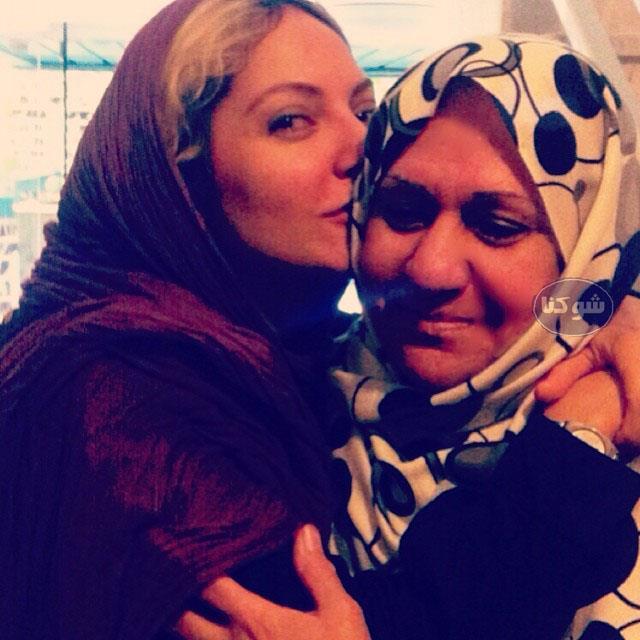 مادر مهناز افشار,عکس های مهناز افشار و مادرش