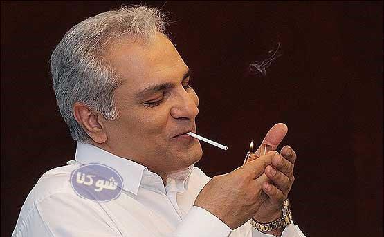 سیگار کشیدن مهران مدیری,عکس جنجالی مهران مدیری