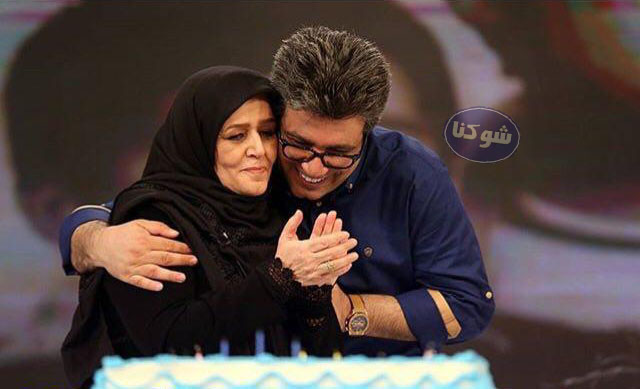 رضا رشیدپور و مادرش,عکس مادر رضا رشیدپور