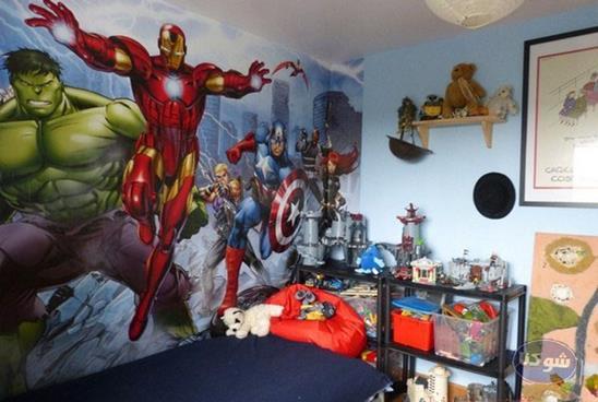 مدل دکوراسیون اتاق کودک,دکوراسیون پسرانه اتاق خواب