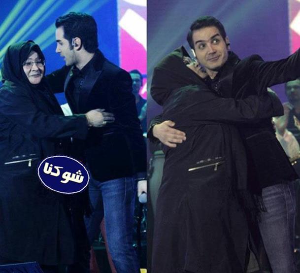 مادر محسن یگانه,کنسرت محسن یگانه و مادرش