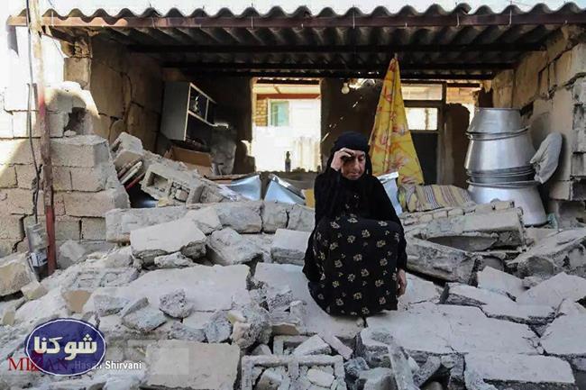 عکس های دلخراش از زلزله کرمانشاه و زلزله سر پل ذهاب