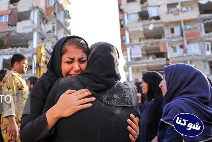 عکس های غم انگیز از زلزله کرمانشاه و زلزله سر پل ذهاب