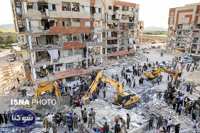 عکس های غم انگیز از زلزله کرمانشاه,زلزله سر پل ذهاب