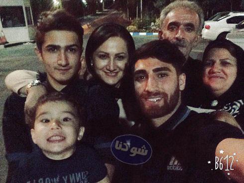 Alireza Jahanbakhsh 3 - بیوگرافی علیرضا جهانبخش و همسرش + تصاویر خانواده