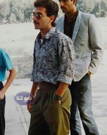 عکس جوانی اصغر فرهادی در زمان های دور