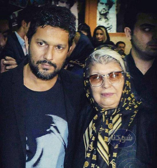 مادر حامد بهداد,عکس های حامد بهداد و مادرش