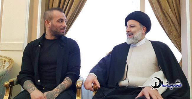 بیوگرافی امیر تتلو,دیدار ابراهیم رئیسی با امیر تتلو