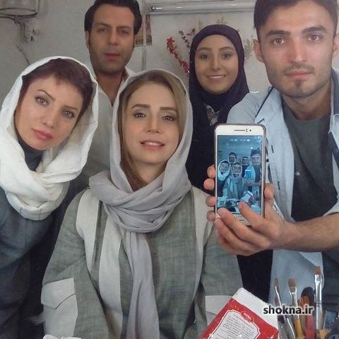عکس های بازیگران سریال آنام,شبنم قلی خانی در سریال آنام