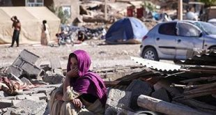 درخواست ارسال نوار بهداشتی برای زلزله زده ها