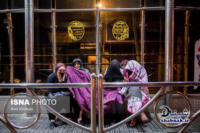 فیلم لحظه زلزله تهران + تصاویر فرار مردم تهران از زلزله