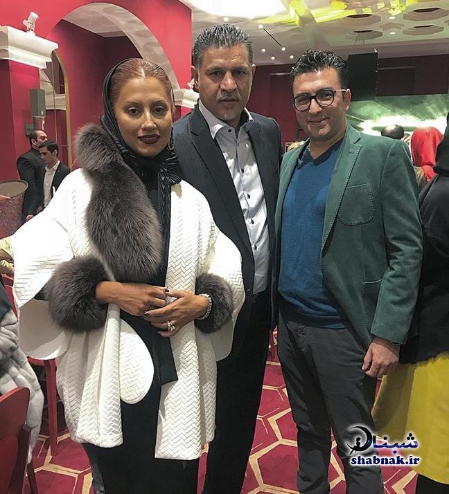 بیوگرافی مونا فرخ آذری همسر علی دایی