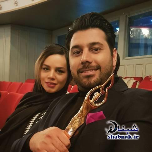 عکس های خصوصی احسان خواجه امیری و همسرش