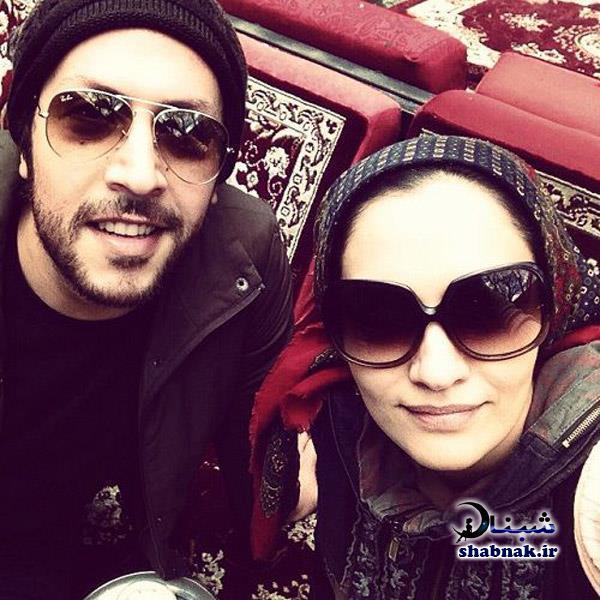 عکس های خصوصی میترا حجار و همسرش سینا حجازی