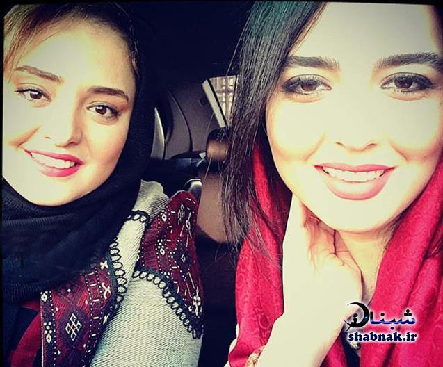 سارا محمدی خواهر نرگس محمدی,نرگس محمدی و خواهرش
