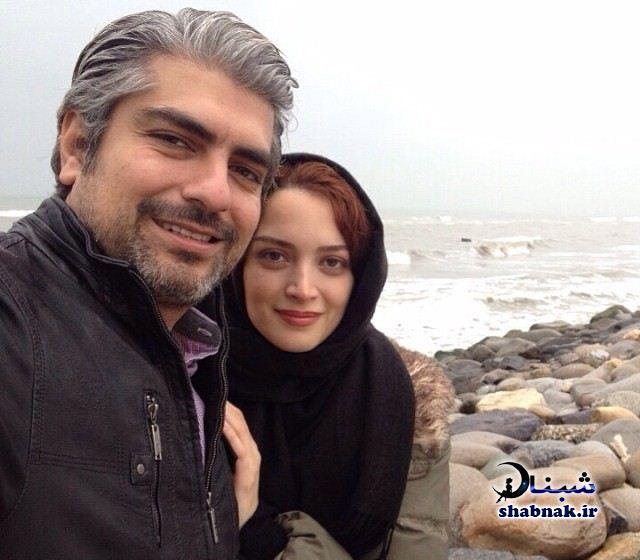بهنوش طباطبایی و همسر سابقش مهدی پاکدل
