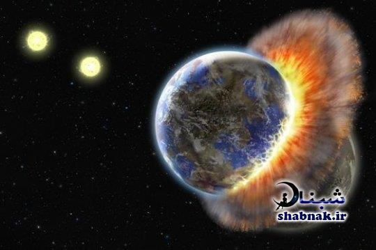 جزئیات نابودی کره زمین در 12 بهمن برخورد با یک ستاره