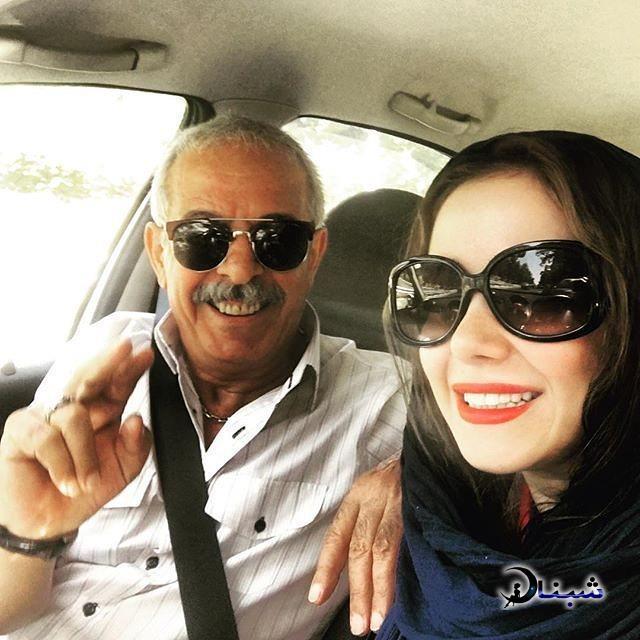 بیوگرافی الناز حبیبی و همسرش,پدر الناز حبیبی