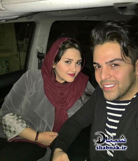 عکس عماد طالب زاده و همسرش