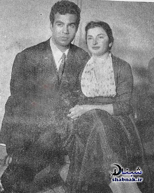 بیوگرافی ناصر ملک مطیعی و همسرش