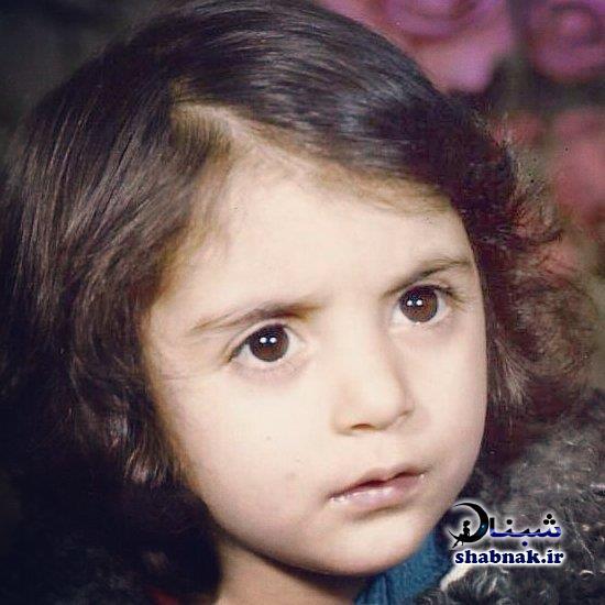 عکس کودکی رویا میرعلمی