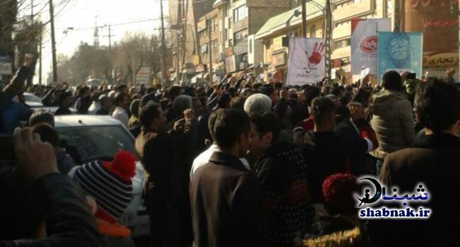 فیلم های تظاهرات برای گرانی,شورش علیه نظام