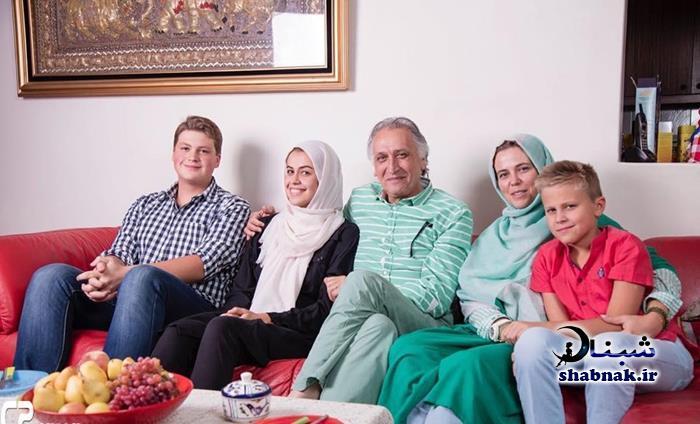 خانواده احمد نجفی,تصاویر دختر و پسران احمد نجفی