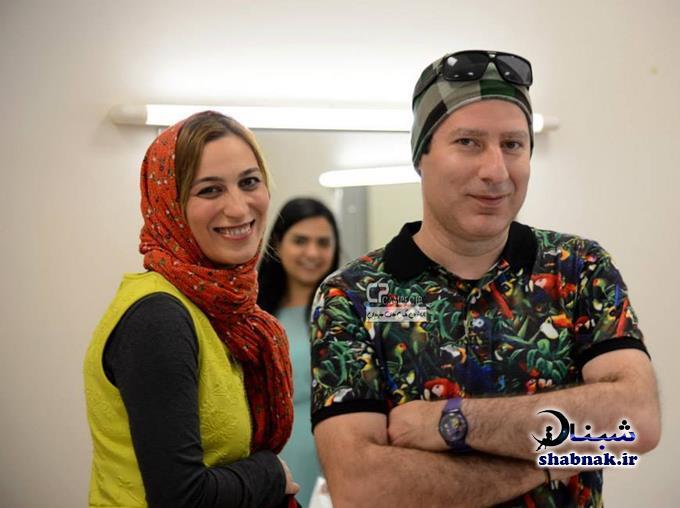 بیوگرافی فلامک جنیدی و همسرش
