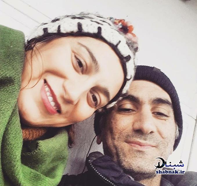 عکس فلامک جنیدی و همسرش آیدین پوری