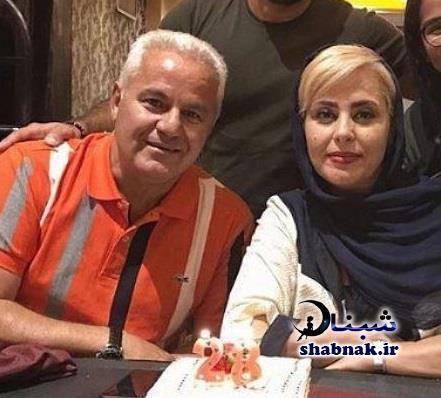بیوگرافی فرشاد پیوس و همسرش,همسر فرشاد پیوس