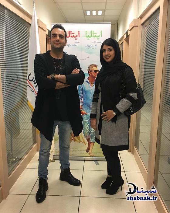 بیوگرافی حامد کمیلی و همسرش