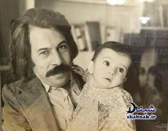 کودکی لیلی رشیدی و پدرش داوود رشیدی