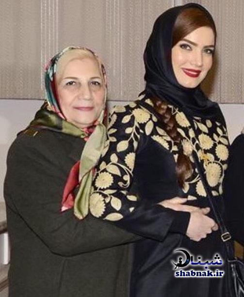 تصاویر متین ستوده و مادرش
