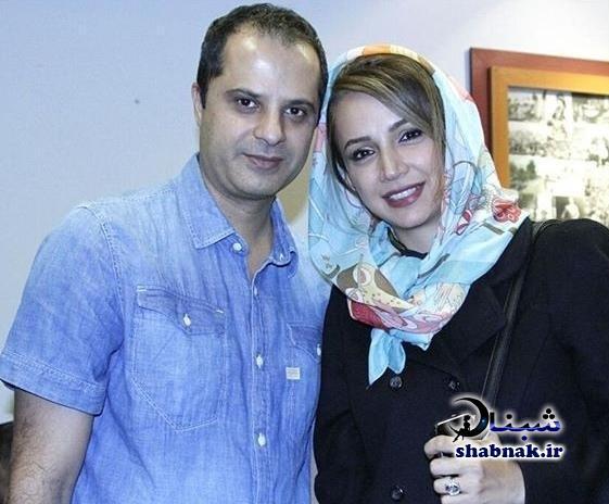 عکس های شبنم قلی خانی و شوهرش