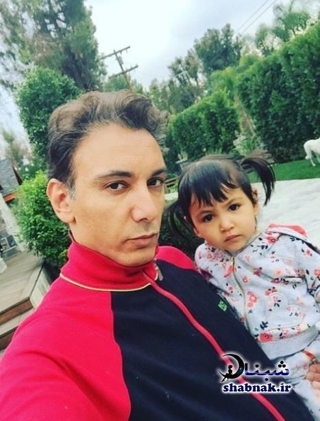 تصاویر خانوادگی شادمهر عقیلی و دخترش ملینا