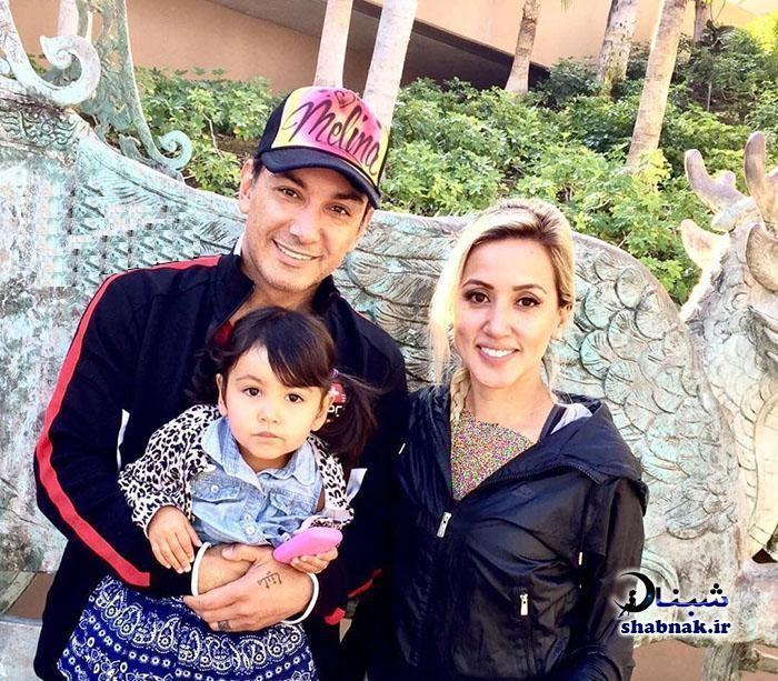 تصاویر خانوادگی شادمهر عقیلی و همسرش ملیسا