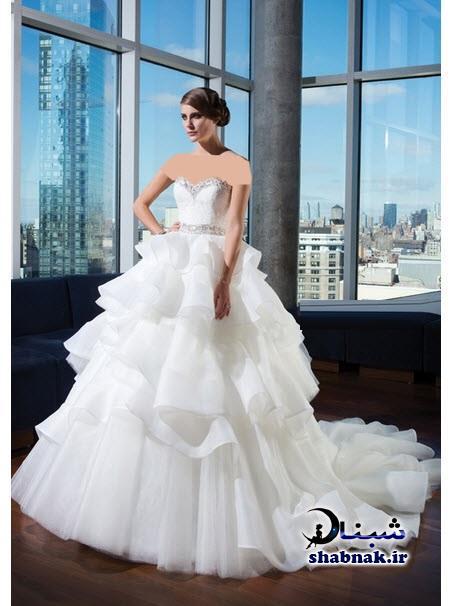 مدل های جدید لباس عروس,انواع لباس عروس