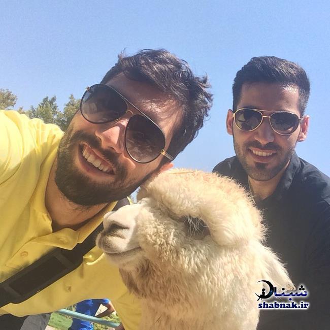بیوگرافی محمد موسوی,سلفی محمد موسوی