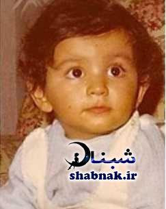 عکس کودکی شقایق فراهانی