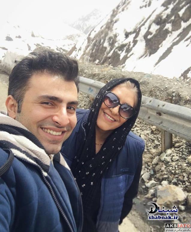 بیوگرافی علیرضا طلیسچی و مادرش