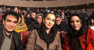 عکس های بازیگران زن در جشنواره فجر 96