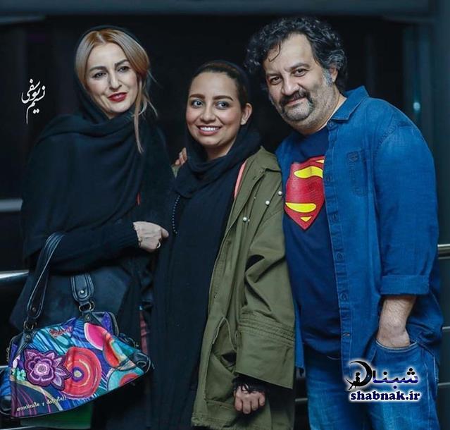 بیوگرافی مهراب قاسم خانی و دخترش